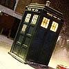 owl: The TARDIS in snow (TARDIS)
