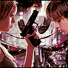 genusshrike: Cameron & John from Sarah Connor Chronicles icon (gun)