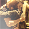 claudiometer: hugging Pete (chosen family)