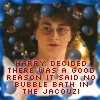 beren_writes: Harry in the prefect's bathroom (HP - Harry/bubbles)