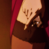 mikogalatea: A crossdressing Tieria from Gundam 00. The icon's a closeup of his thigh as he pulls a pistol out of his stocking. ([00] Tieria; sexy garter gun)