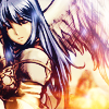 mikogalatea: Shiida from Fire Emblem 11, looking serene as she stands by her pegasus. ([FE11] Shiida)