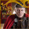 beren_writes: Uther looking upset (Merlin - dad's mad)