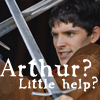 beren_writes: Merlin sword fighting (Merlin - little help)