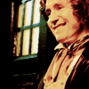 eighth: (Happy | Leaning against TARDIS)