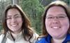 paraka: Sara and I side by side. (NF-Me and Sara)