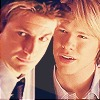 paraka: Brian and Justin giving confused looks (QaF-B/J-o_O)