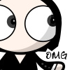 "paraka: Wide eyed Snape with the caption ""OMG"" (HP-S-OMG)"