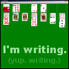 grapegarden: Totally not distracted, I swear! (Solitaire)