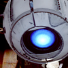 testgasm: portalcaps @ tumblr (ceiling wheatley is watching you test)
