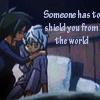 fairytaleknight: ((Mytho) shield you from the world)