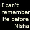 strangenessandcharm: (Life Before Misha)