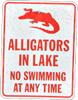 nyat: (alligators in lake)