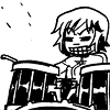 350pointsmile: (Evil drummer girl)