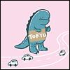 karayan: Source unknown. (Have Godzilla; will travel.)