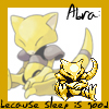 azremodehar: The Pokemon Abra.  (Pokemon - Abra)