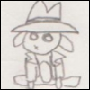 fedorafan: (Noir bunny sit)