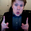 dapatty: Patrick Stump enthusiastically points with both hands. (PSassy)