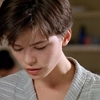 tofightinjustice: Kate Beckinsale, with short hair, looking downward. (Bad memories)