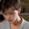 tofightinjustice: Kate Beckinsale, with short hair, looking downward. (Bad memories)