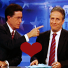 jennova: Jon and Stephen - Mainstream *hearts* (Fakenews: Jon/Stephen)