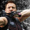 james: Hawkeye drawing a bow. (clint_hawkeye)