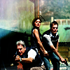 meredith44: NCIS Gibbs, Kate, Tony with guns (NCIS team guns)