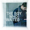 "jain: Eduardo Saverin waiting for Mark. Text: ""The boy who waited."" (social network eduardo waiting)"
