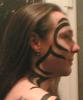 denny: (Facial tattoo (fake))