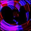 denny: (Glow-poi silhouette)