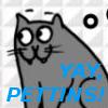 denny: (Yay pettins!)