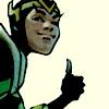 omens: loki givin the thumbs up sign (loki thumbs-up)