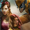 madeinalab: Jubilee, Kitty, and Wolverine ([XM] Wolverine's family)