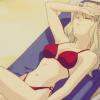 sativa: (Noir - Mirelle - Sunbathing)