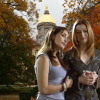 spiletta42: Willow/Kennedy from Buffy the Vampire Slayer at Notre Dame (photoshopped) (BtVS W/K Notre Dame)