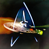 meri_oddities: Star Trek ensignia (01 ST Star Trek - spud66cat)