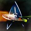 meri_oddities: Star Trek ensignia (01 ST Star Trek - spud66cat)