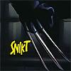 """healingmirth: Wolverine's claws: """"snikt"""" (snikt)"""