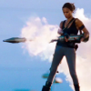kate: Aisha with a rocket launcher (Losers: Aisha is a badass)