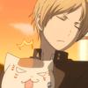 returnthyname: (Takashi + Nyanko | You smell like sake)