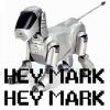 nagios: Nagios: Robot dog saying HEY MARK HEY MARK (nagios)
