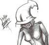 hailthenarc: (Sketchy!Squid Hello babbu~)