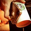 isthmus: (stock: coffee phone)