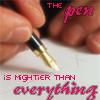 rynne: (mighty pen)