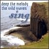rynne: (the wild waves sing)