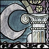 fairytales: ([disney] stained glass)