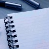 tory: lined notebook and pen (Default)