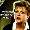 """medie: an astonished Jessica Fletcher with the text """"my word, it's made of fail!"""" (msw - jessica - thinks you're dumb)"""