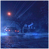 contrary_lady: This is a lovely picture of Dean's & Sam's car @ night. (SPN: Impala: Tail lights @ night)