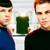 singularity: Kirk and Spock from Star Trek (2009) (Default)